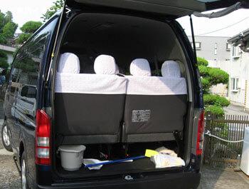 大容量トランク