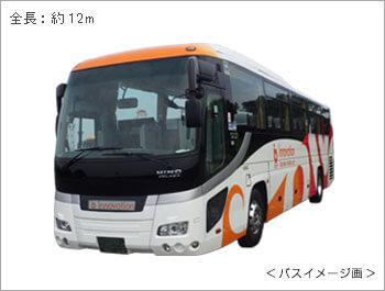 大型バス全面
