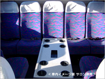 小型バスのサロンタイプです