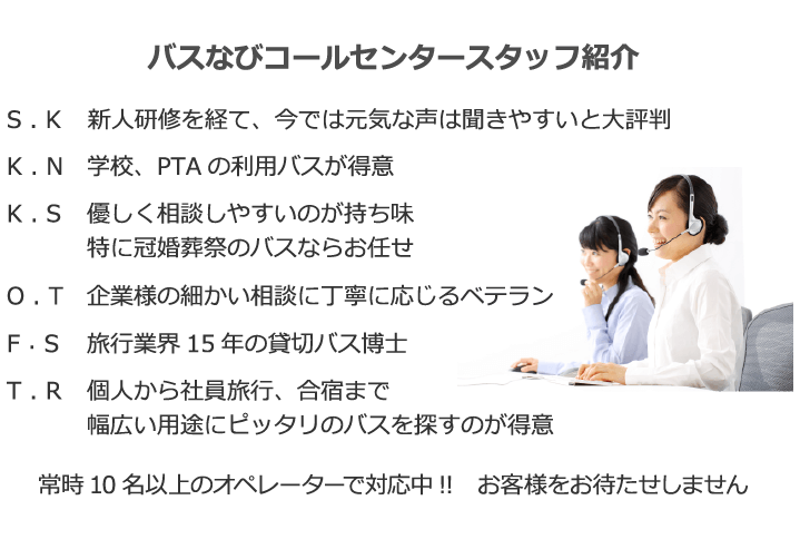 オペレーター紹介